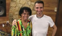 En Rio de Janeiro, grabando con Teo Lima