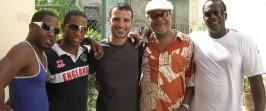 La Habana, Cuba, luego del concierto con la banda de Pucho Lopez