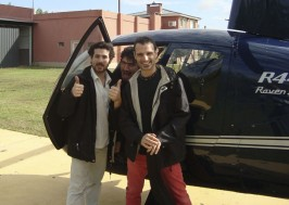Volando a tocar, con Diego Alejandro y Marcos Archetti